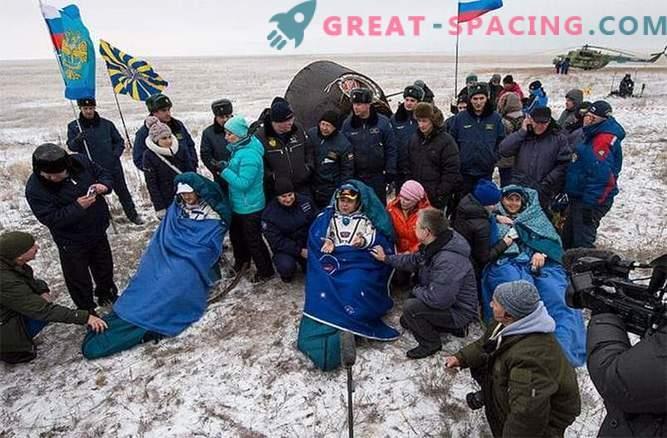 Liit andis ISSi meeskonna ohutult maa peale