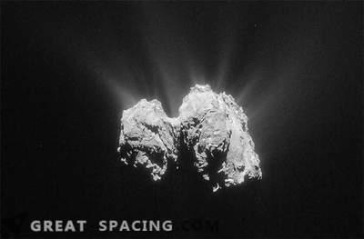 Phili kosmoselaev, mis asub komeetil, võttis ühendust Rosettaga