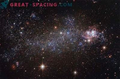 Hubble vaatab uimastavat ebakorrapärast galaktikat