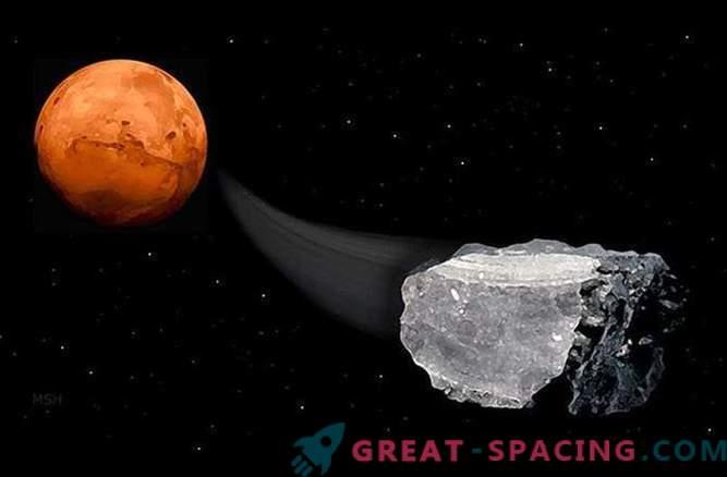 Kas Marsi meteoriidis võib olla metaani olemasolu elu olemasolu kohta?