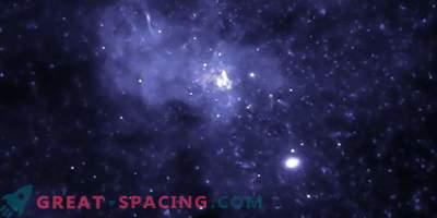 Must auk galaktikakeskuses