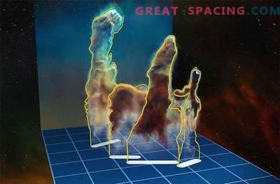 Awesome 3-D loomingupillide perspektiiv