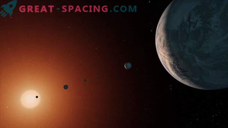 Läheduses viibivad välismaalased? Planeedid TRAPPIST-1 sobivad välismaalase elu jaoks