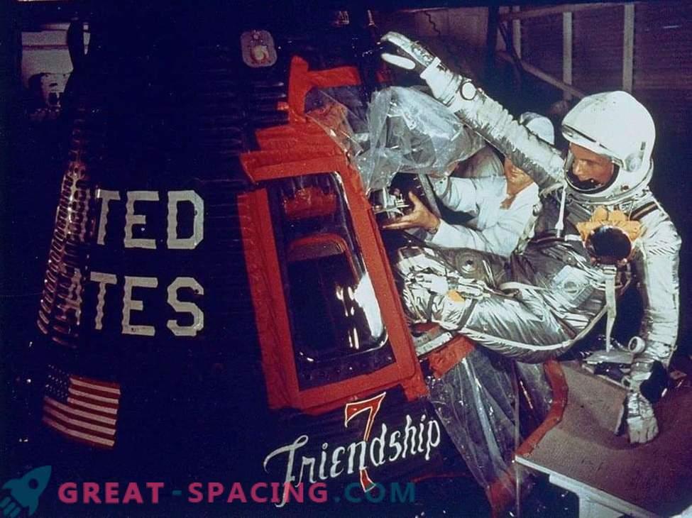 John Glenn'i orbiidi missioon testis inimkeha saladusi kosmoses.
