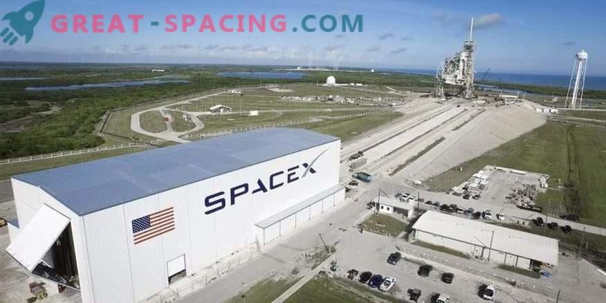 SpaceX hilines esimesel lennul
