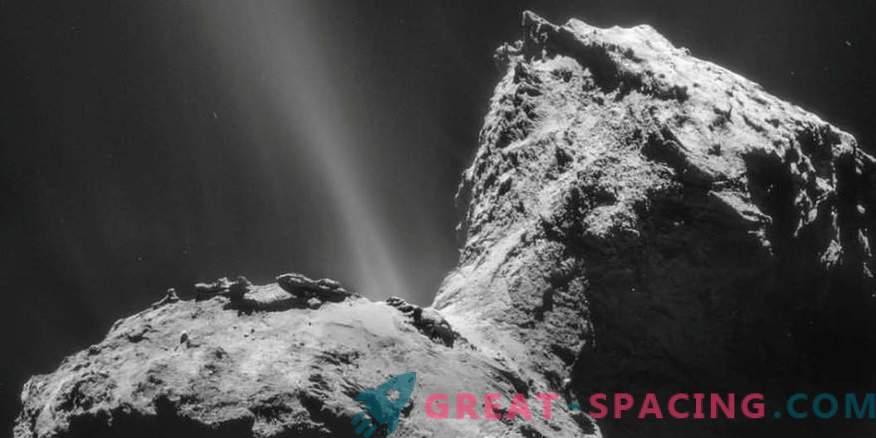 Comet tolm näitab päikesesüsteemi ajalugu