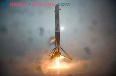 SpaceX tegi suure maandumise