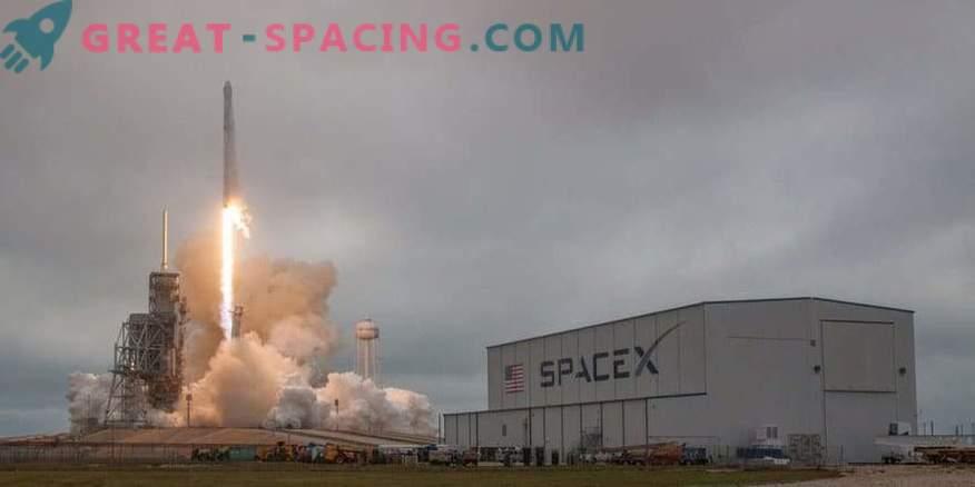 SpaceX tagastas NASA ajaloolise saidi ettevõttele