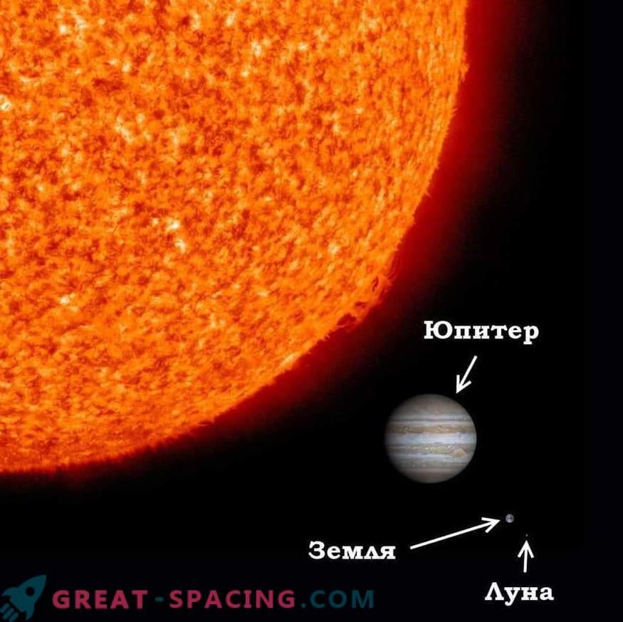 E se il Sole fosse più piccolo della Terra