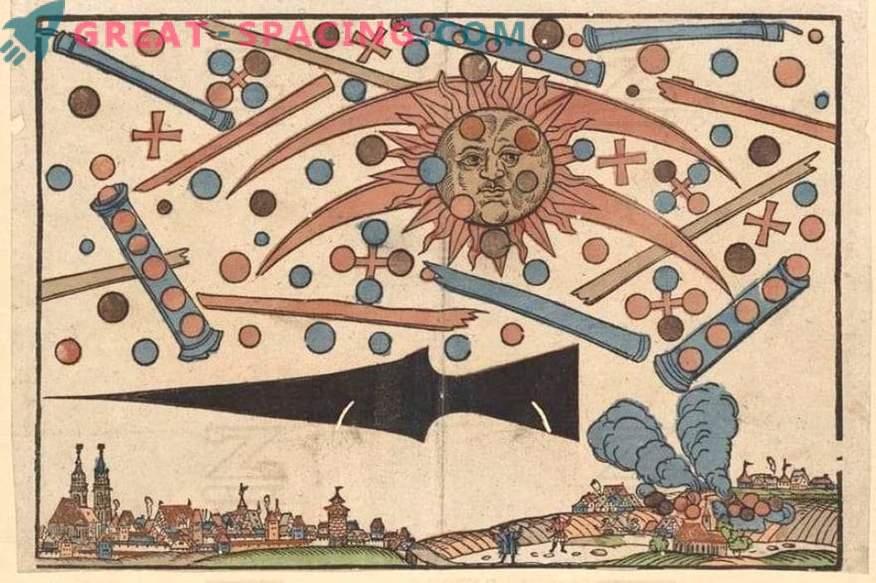 Millised heledad tuled Nürnbergis 1561. Tunnistajate lood ja ufoloogide versioonid