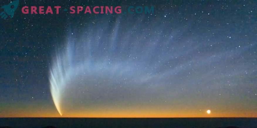 Lugu ebatavalise komeeti Shezo saabumisest kuue sabaga