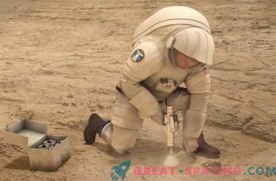 NASA kõrgtehnoloogiline marli võib tervendada haavatud marsi astronaute