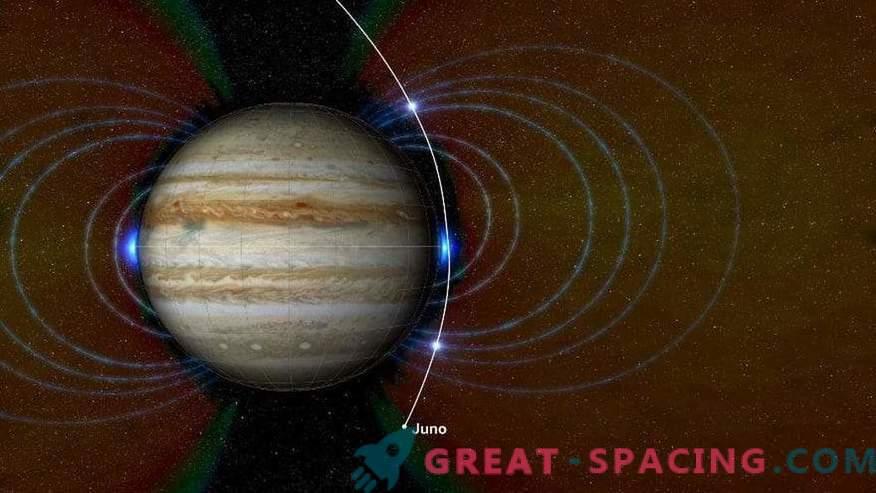 Juno uurib Suure punase koha sügavust