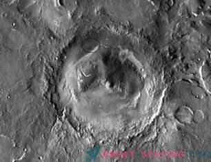 Järve olemasolu Gale'i kraater aitab selgitada Marsi kliima ajalugu