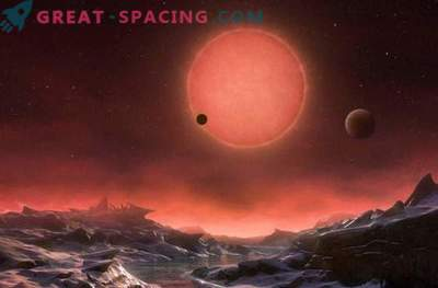 Kolm planeeti, mis leidsid aset lähedal asuva tähe orbiidil