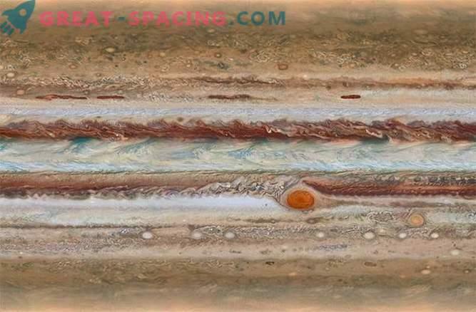 Hubble'i teleskoop jälgib Jupiteri, et luua dünaamiline kaart