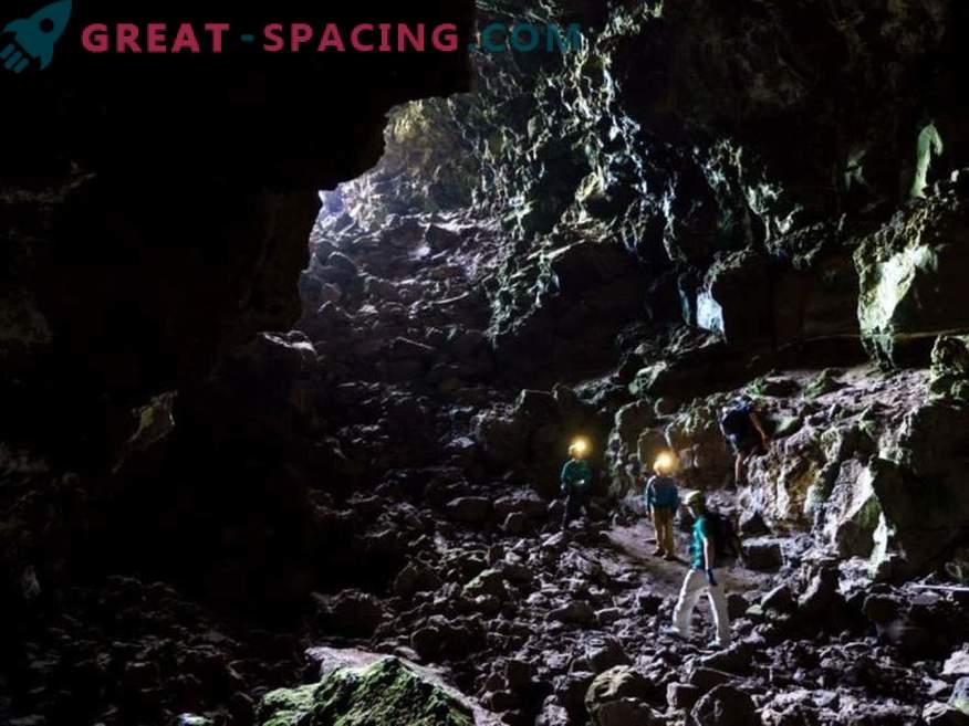 Marsi kolonistid saavad elada lava torudes pinna all.