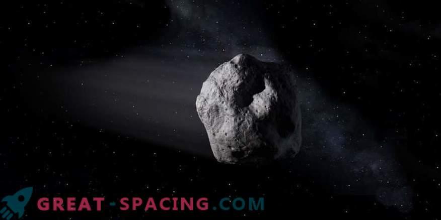 Asteroid 2002 AJ129 eeldatavasti saabub.