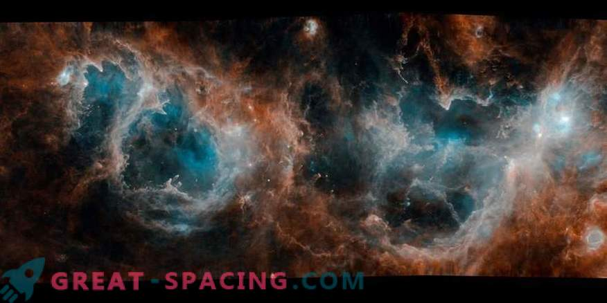 Kuidas avaldas Herschel tähtede moodustumise saladusi?