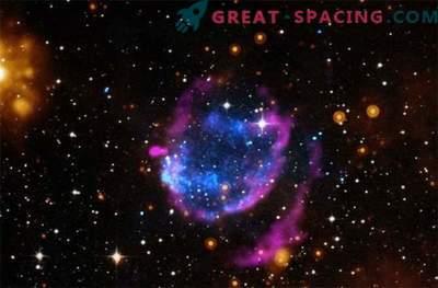 Supernova jääk, millel on võimas soojuskiirgus