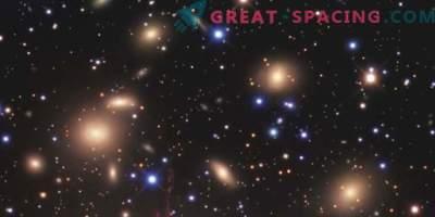 Gravitatsiooniline läätsed uskumatult tiheda galaktika klastri ümber