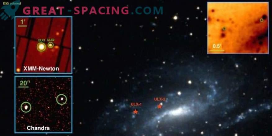Kaks superluminaalset röntgenkiirguse allikat galaktikas NGC 925