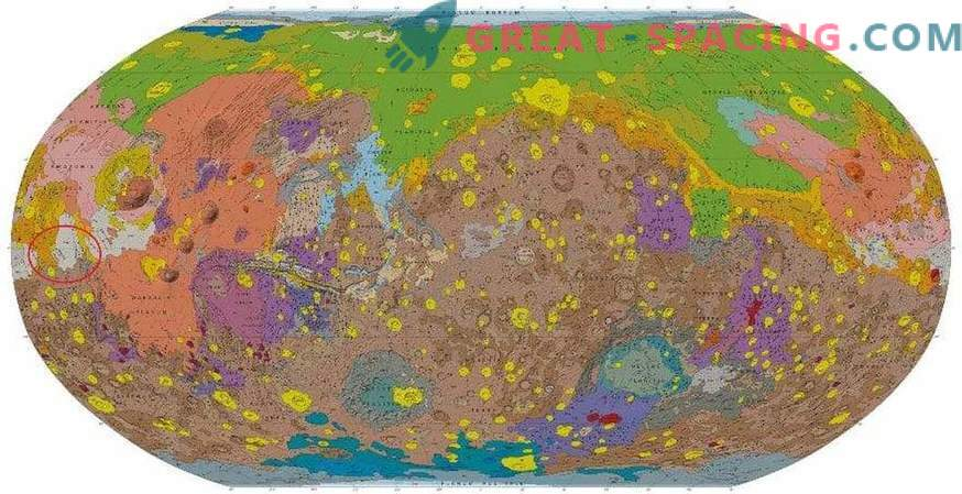 Vulkaaniline tegevus on salapärane Marsi tõu loomine