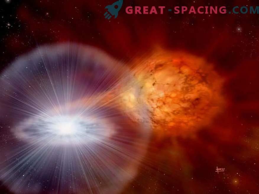 Supernova Tycho eelkäija ei olnud kuum ja särav