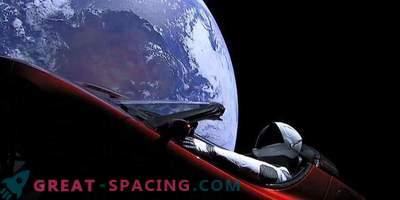 Starman ja Tesla lähevad kaugemale Marsist
