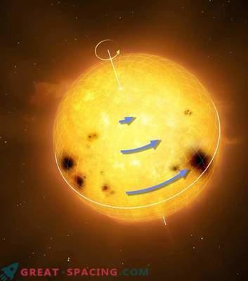 Skrivnost vrtenja sončnih tipov: kaj se razlikuje od sonca?