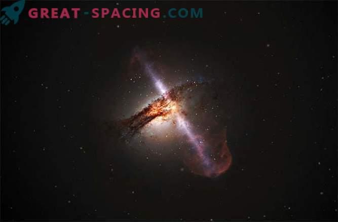 Väike galaktikast leitud suur must auk
