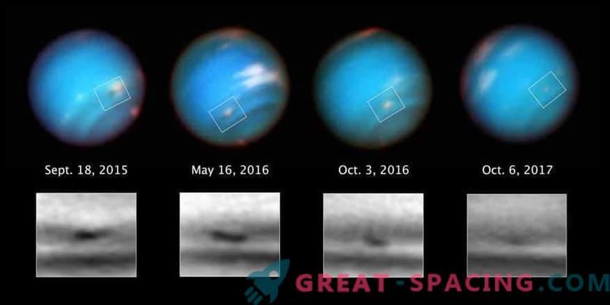 Hubble vaatab Neptunuse kummalist tormit