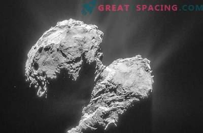 Rosettal on raskusi komeedi karmide ilmade tõttu.