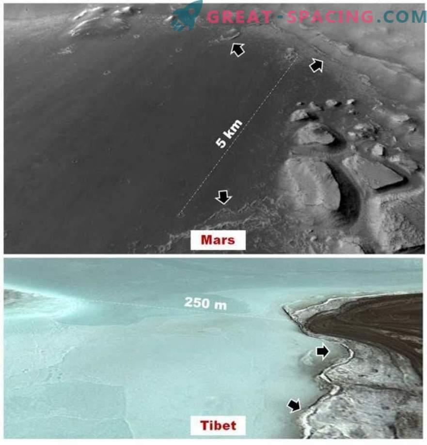 Marsi järved võivad olla koduks iidsetele organismidele.