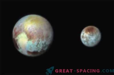 New Horizons tegi Pluto ja Charoni värvifoto