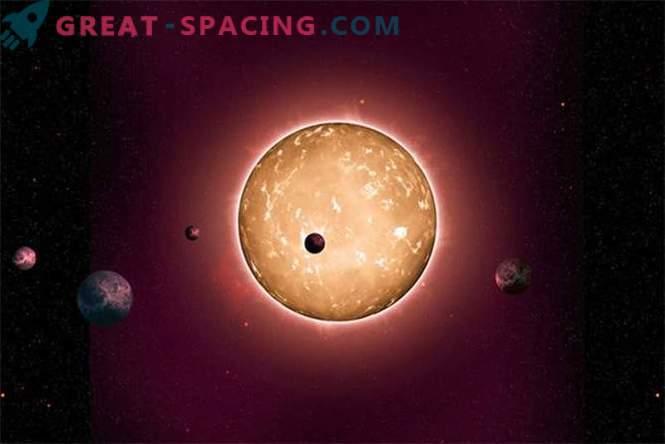 Kepler avastas vana kivisüsteemi 5 kivise planeetiga