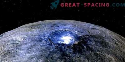 Ceres peidab tohutut jäämahutit