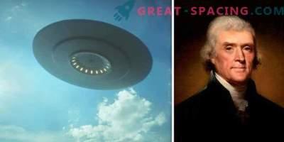 Esimene ametlik UFO rekord! Honor kuulub Ameerika presidendile?