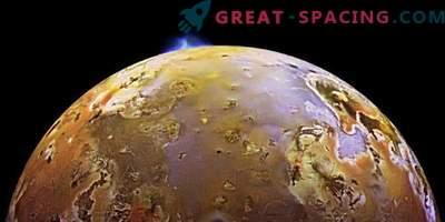 Missioon Juno pildistas vulkaanilisi heitmeid Io satelliidil