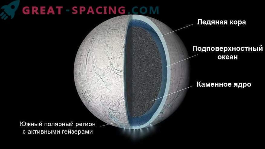 Saturni satelliidil Enceladusel on selle pinna all ookean