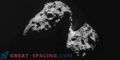 Mida koosneb komeet 67P / Churyumov-Gerasimenko?