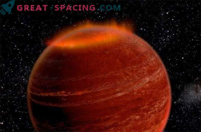 Väljaspool meie päikesesüsteemi avastati suur aurora.