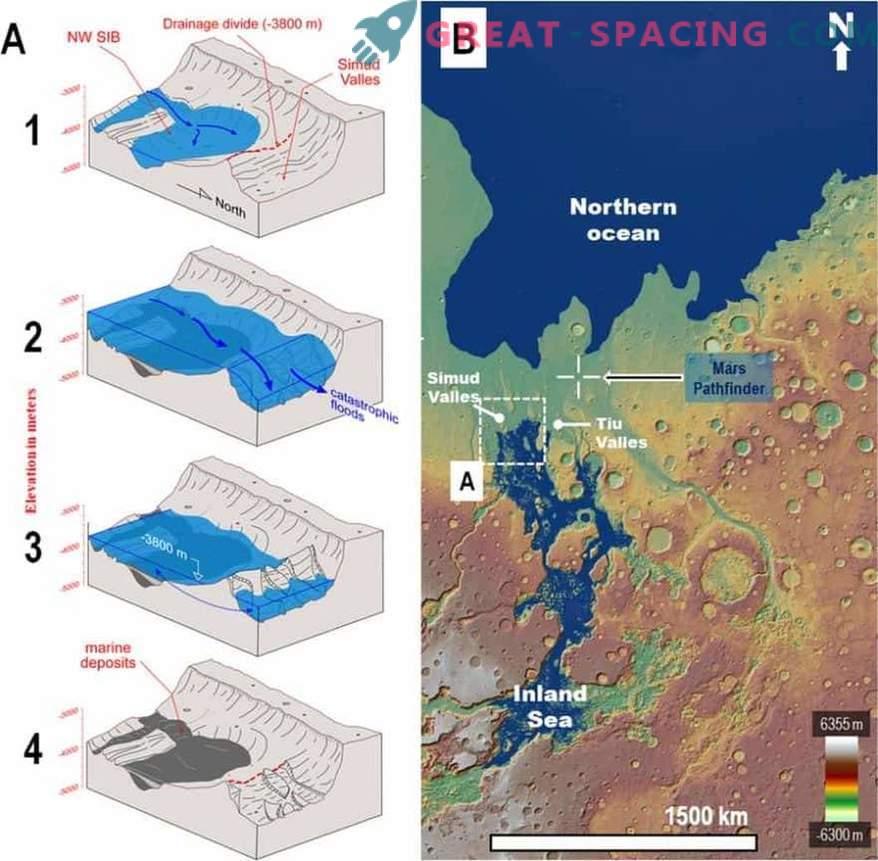 Kuna Rover Pathfinder avastas kogemata veega Marsil