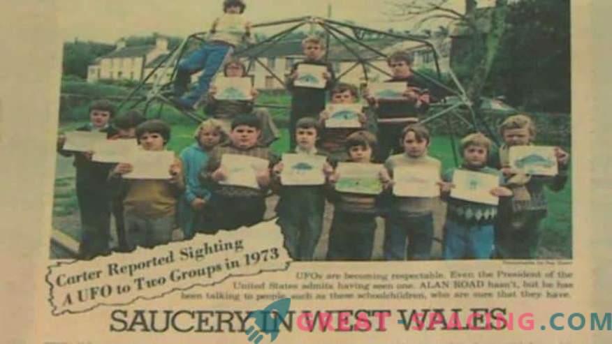 Incident Walesis - 1977. Õpilased on kindlad, et nad on näinud välismaalase laeva
