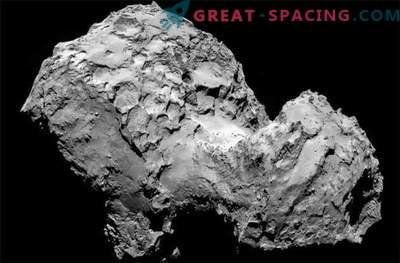 Comet Rosetta kaetud koheva tolmuga