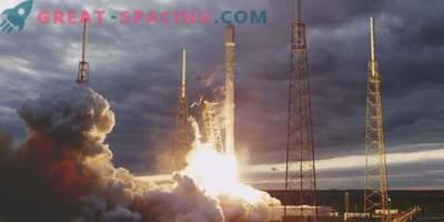 SpaceX rakett käivitati uue satelliidipaariga