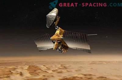 Ettenägematu süsteemi rike Marsi orbiidil.