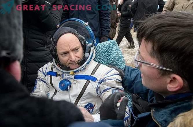 Obama räägib astronaudidest, kes veetsid aasta kosmoses