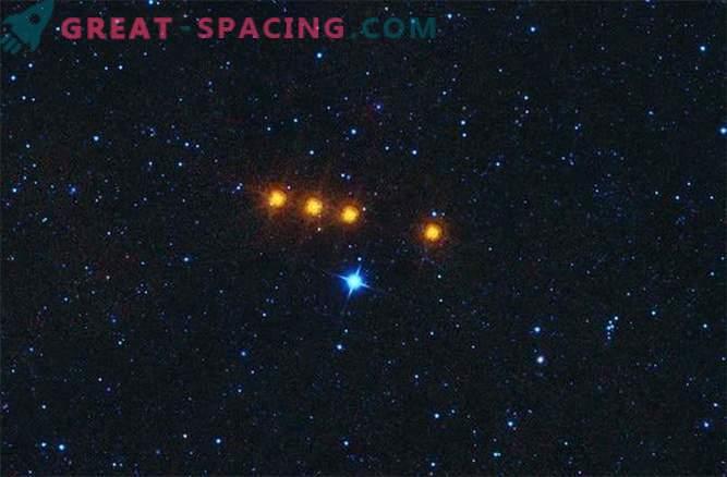 Asteroidi Oddball liikumist jälgiti infrapuna teleskoobi abil