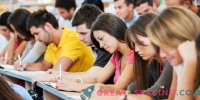 Kõige olulisem teave kaasaegse õpilase jaoks